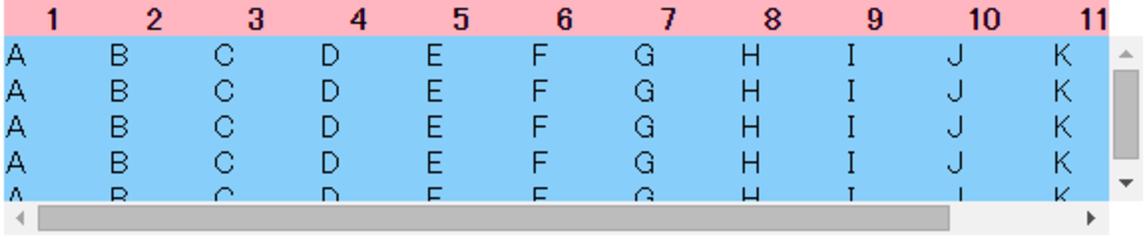 【HTML/javascript】複数テーブルのスクロール