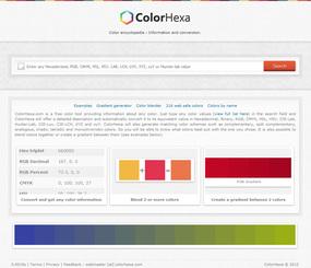 配色決めに便利!カラーコードで色の詳細情報が分かる『Color Hexa』