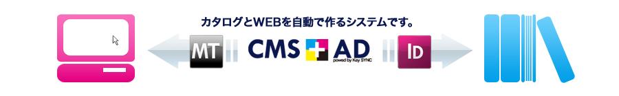 Webとリアルをつなぐコンテンツマネージメントシステム CMS+AD