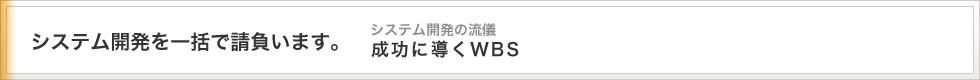 アイロベックスのWBSへの取り組み方について。